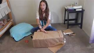 New Reborn Baby Box Opening! Our First Baby From England!!
