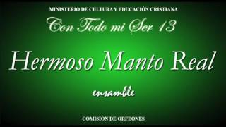 Hermoso manto Real ENSAMBLE