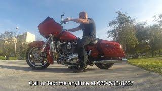 2013 FLTRX Road Glide Custom, 383 miles, CANDY ORANGE, Extras$$$, 103