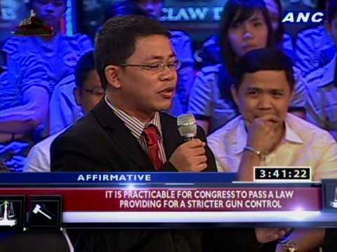 ANC Square Off CVC Law Debates Season 6 - Quarter Finals - SU vs CJC