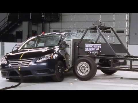 2013 Nissan Sentra. Краш-тест, боковой удар