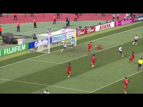 Clint Dempsey Goal - 2006 World Cup Ghana 2-1 USA