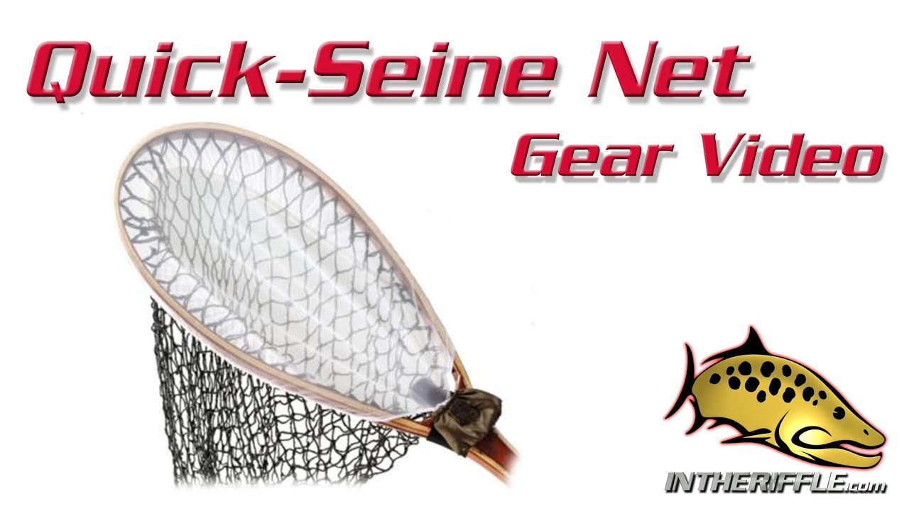 Quick seine bug insect net fly fishing youtube for Seine net fishing