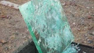 20! 9mm Rounds Fired at BulletProof Glass!!!!
