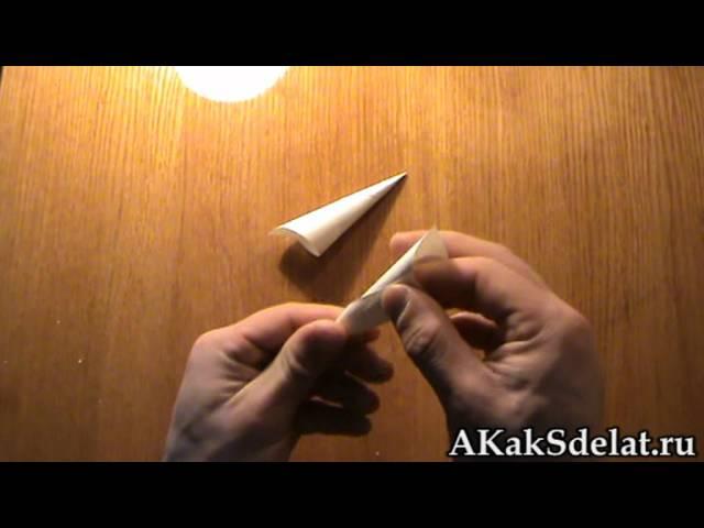 Как сделать рога козы из бумаги видео