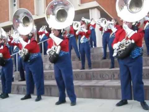 Pride of Arizona, post-game concert Oct. 27, 2012
