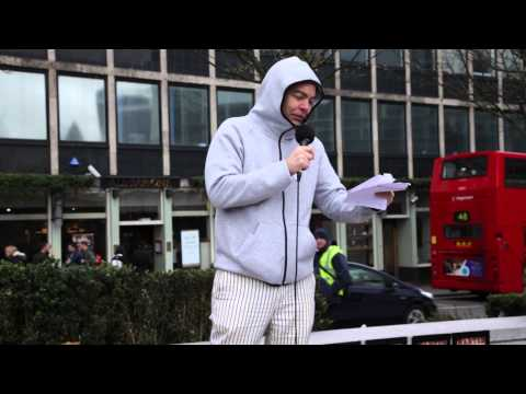 Max Keiser speaking at Occupy Rupert Murdoch 28-03-2015