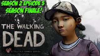 The Walking Dead Season 2 Episode 5: No Going Back! (Season Finale Full Episode Playthrough)