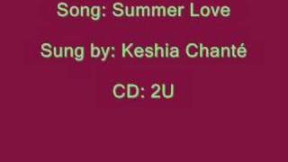 Summer Love - Keshia Chanté