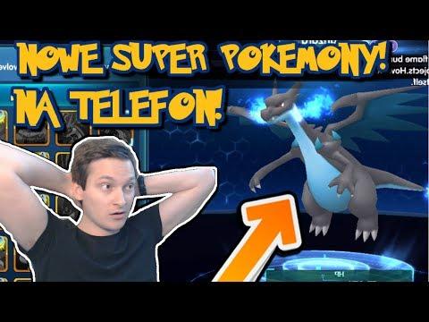 NOWA SUPER GRA POKEMON NA TELEFON! MEGA CATCH!