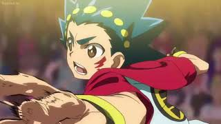 (Beyblade burst evolution)valt vs xander English dub