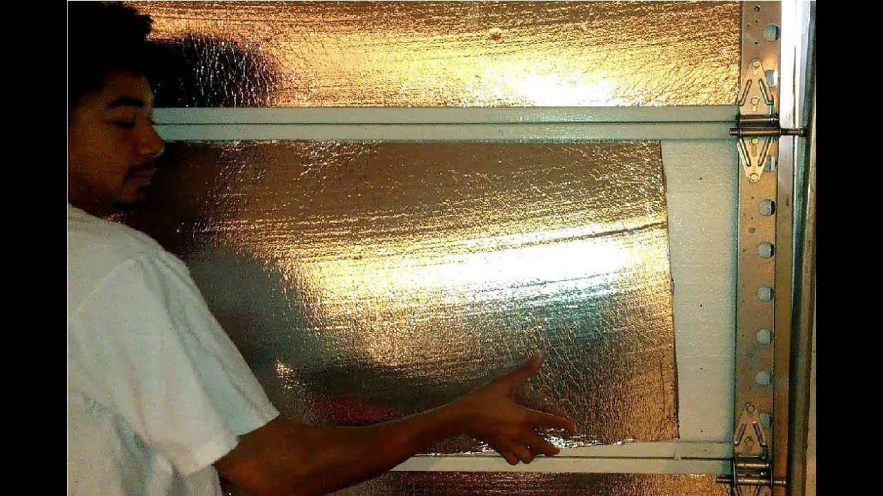 How To Insulate A Metal Aluminum Garage Door Home Energy