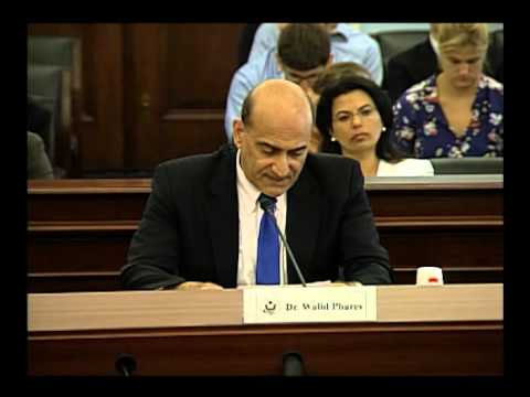 U.S. Helsinki Commission Hearing on the Escalating Violence against Coptic Women in Egypt.wmv