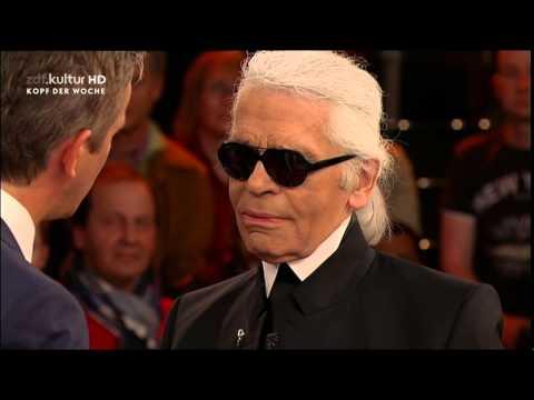 Markus Lanz trifft Karl Lagerfeld