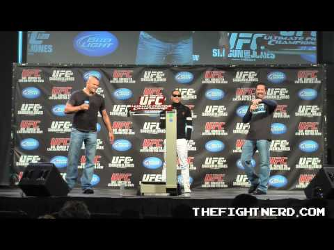 Chuck Liddell Q & A from UFC 128 - Part 4 of 5