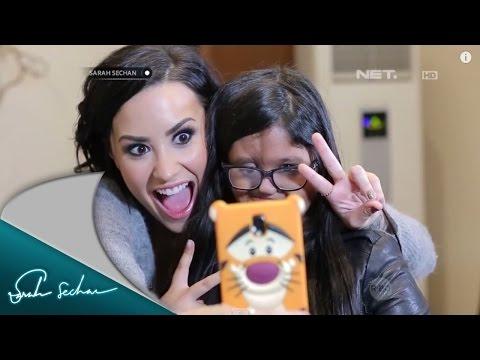 Chua Bertemu Langsung dengan Idolanya, Demi Lovato
