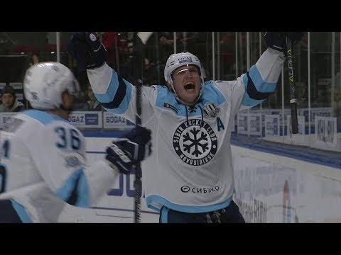 Сибирь дважды забивает на последней минуте и спасает игру