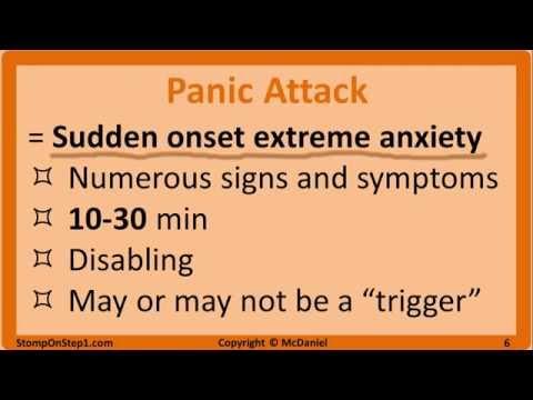 Anxiety Disorders: OCD, PTSD, Panic Attack, Agoraphobia, Phobias, GAD Generalized