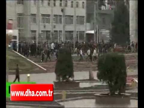 UNREST IN KYRGYZSTAN; STATE TV OCCUPIED BY PROTESTERS