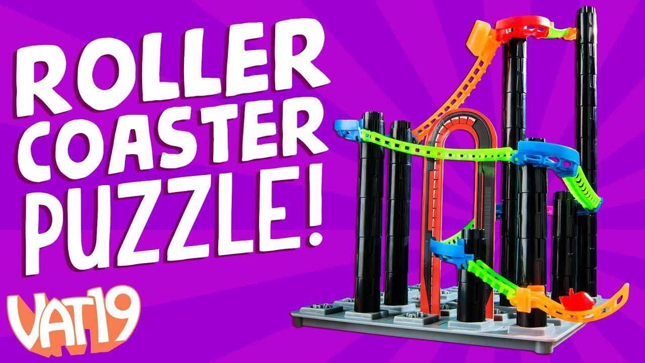 Roller Coaster Challenge [3D logic puzzle]