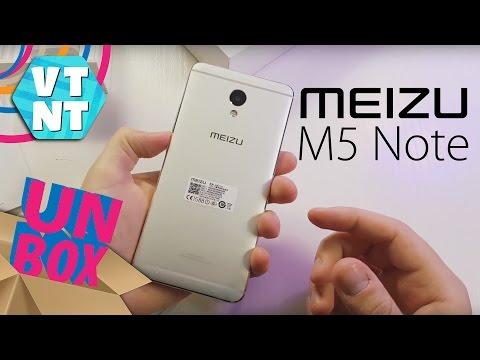 Meizu M5 Note Распаковка рядом с M3 Note, Xiaomi Redmi Note 4