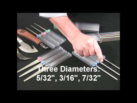 Video of Diafold® Chainsaw File Models