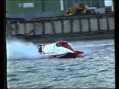 Patu Leppälä F1 Powerboat MTV 3 news report 1997