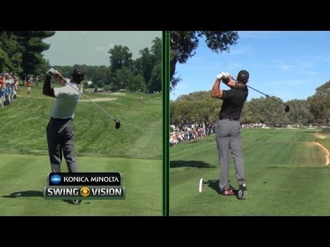 Tiger Woods' swing changes analyzed at the 2014 Quicken Loans National
