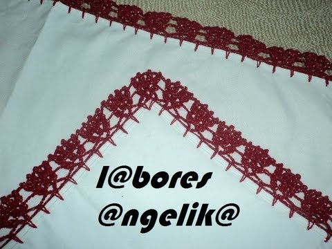 Orillas de servilletas tejidas a crochet - Imagui