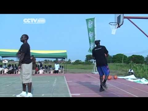 British Professional Basketballer Luol Deng's Visit To Ghana