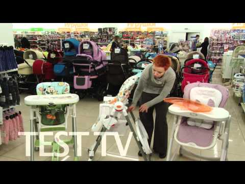 Стульчики для кормления Happy Baby William, Bebeton и Peg-Perego Prima Pappa