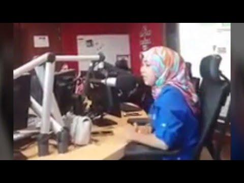 Adik Ewa Mintak Maaf Degan Abang Lori Di Konti Suria FM