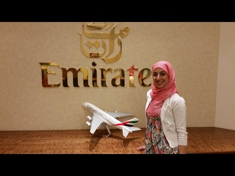 Emirates Airline - JFK-KHI Business Class ** PART 1 **