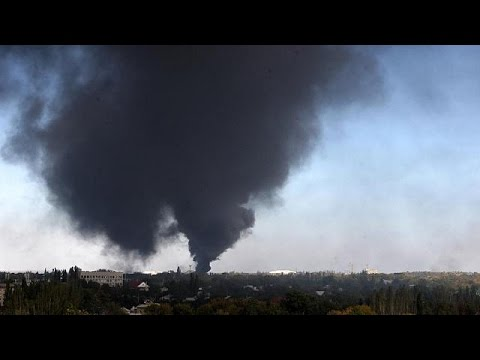 Separatists claim Donetsk airport falls, US warns ceasefire at risk