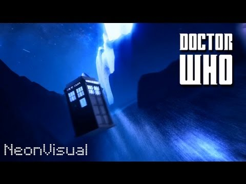 Doctor Who Intro Sequence - 2013 Neonvisual Cinematic Titles, Edition 2. video