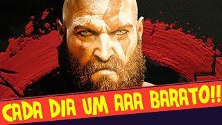CADA DIA UM AAA PREÇO BAIXO !! CORRE QUE HOJE É GOD OF WAR
