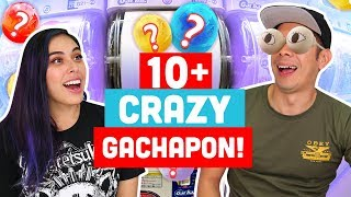 10 Random Gachapon Figures from Japan!