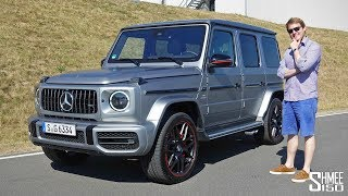 I Have a Mad Craving for an AMG G63!
