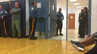 Active shooter training at Eastern Regional High School