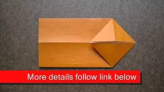 How To Fold Origami Chopstick Wrapper - Origamiinstruction.com