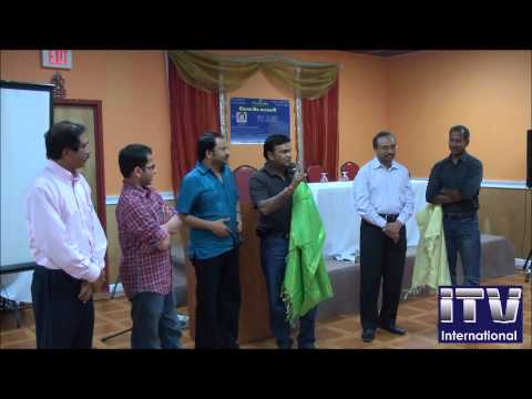 Director of the Hollywood Movie-Amy, RP Patnaik Felicitated in New Jersey