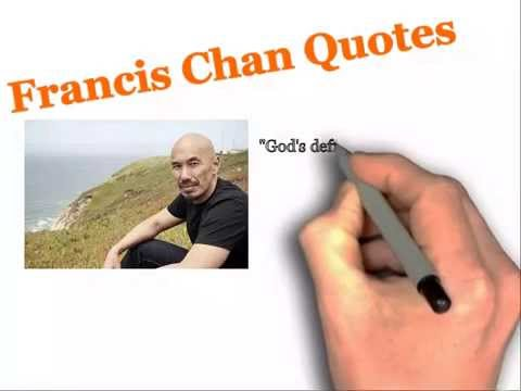 Francis Chan Quotes - What Matters to God