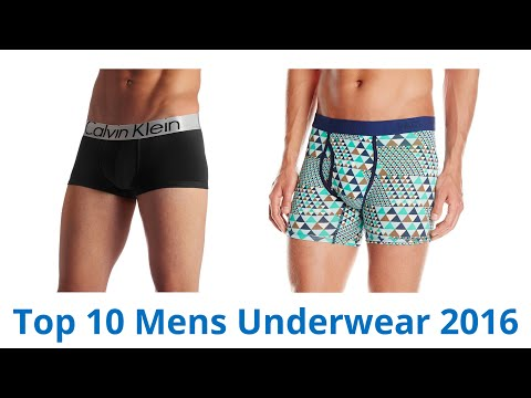 10 Best Mens Underwear 2016
