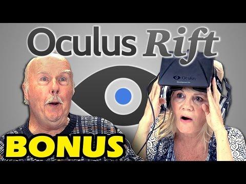ELDERS REACT TO OCULUS RIFT (Bonus #40)