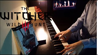 The Witcher 3  - Ard Skellig Settlements Exploration Piano cover