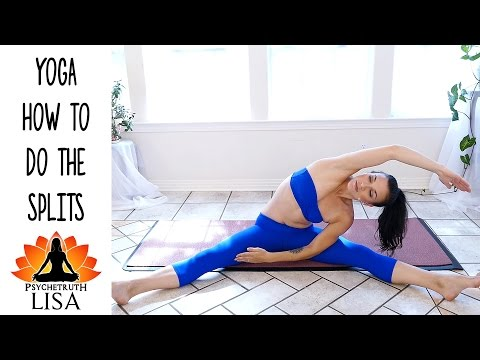 Lisa Yoga #5 How To Do The Center Splits Beginners Workout