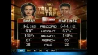 Emery-Martinez IFBA World Championship Fight