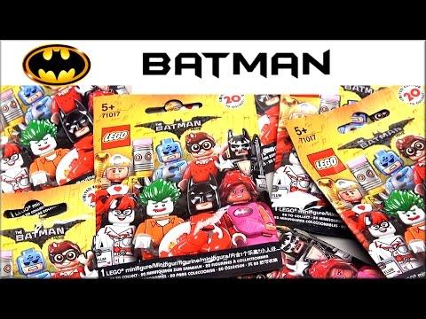 LEGO минифигурки ЛЕГО Фильм: Бэтмен (71017) Обзор