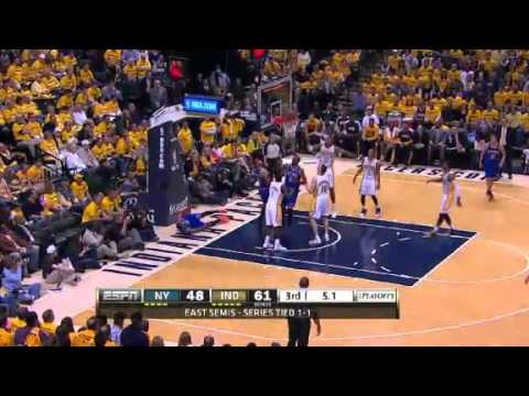 NBA Playoffs Conference 2013: New York Knicks Vs Indiana Pacers Highlights May 11, 2013 Game 3