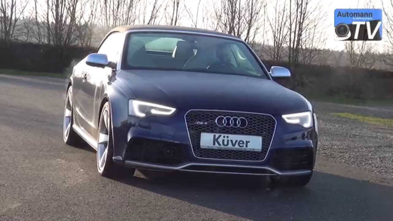 2013 facelift audi rs5 cabrio 450hp tour sound 1080p youtube. Black Bedroom Furniture Sets. Home Design Ideas
